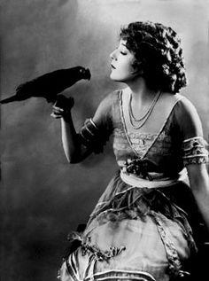Mary Pickford.  Beautiful dress.