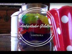 Ambientador de gelatina - YouTube
