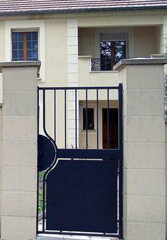 portail portillon cl ture acier mathura roy portillon pinterest. Black Bedroom Furniture Sets. Home Design Ideas