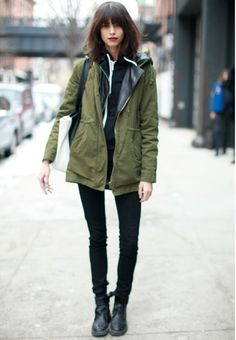 #AntoninaPetkovic looking well cool #offduty in NYC #imaginaryforces