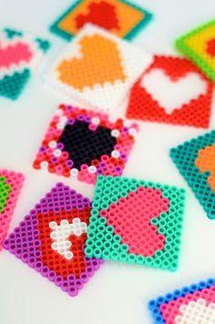 DIY :: Perler Bead Valentines