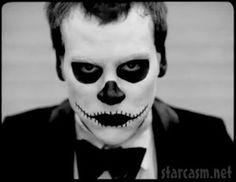 spooky face paint