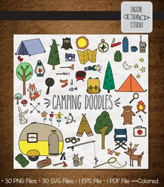 Tent Camping Pictures Fun 44 Ideas For 2019 Camping Photo, Camping Style, Diy Camping, Tent Camping, Tent Drawing, Camping Drawing, Doodle Png, Woodland Illustration, Summer Camping Outfits