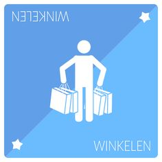 'Winkelen' or 'Shopping' playing card used in our paper prototype