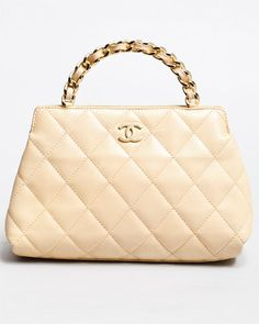 CHANEL - Leather Quilted Kelly Bag