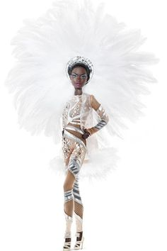 "Designer Stephen Burrows to create a limited edition doll for the Barbie Collector series. The ""Pazette"" Barbie."