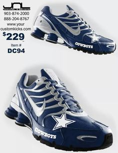 Dallas Cowboys Nikes