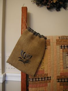 Flower of Humility Shaker Ditty Bag