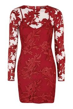 PETITE Applique Mini Dress