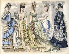 1876 June, Godey's - The Art of the Fan: Beyond the Victorian Lady-Periodicals 2