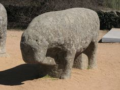 Whether they are bulls or pigs, these ancient animal sculptures are fascinating relics.