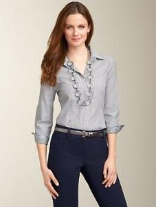 Business casual outfit - really want to be able to pull this off someday.