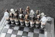 Alien vs. Predator chess board