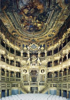 The Margravial Opera House in Bayreuth, Germany
