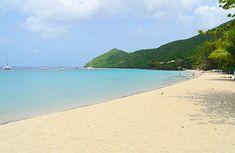 Grande Anse beach, Martinique. Guest blogging for Rum Therapy. www.IslandRunaways.com #Martinique #Caribbean #travel #blogging