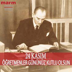En önemli ve feyizli görevlerimiz, milli eğitim işleridir. Milli eğitim işlerinde mutlaka muzaffer olmak lazımdır. Bir milletin gerçek kurtuluşu ancak bu suret ile olur.  Mustafa Kemal Atatürk Öğretmenler gününüz kutlu olsun ! #24kasım #öğretmenlergünü #millieğitim #eğitim #öğretim #mustafakemalatatürk #başöğretmen #görevlerimiz #ilkelerimiz #24kasımöğretmenlergünü