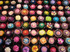 Beautiful Candles in Phuket, Thailand