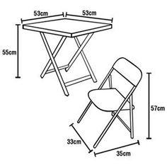 mesa e cadeira bar