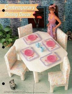 Contemporary Dining Decor - site has all charts free
