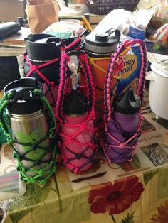 Hydroflask paracord carrier