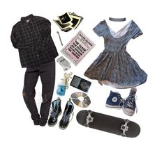 """lets dance to joy division"" by sspaceprincess ❤ liked on Polyvore featuring Dr. Martens, Bonpoint, Urban Outfitters and Converse"