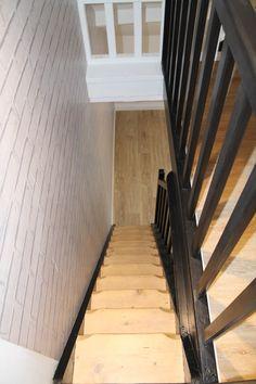 R novation escalier bois d capage marches pour les for Peinture pour escalier bois brut