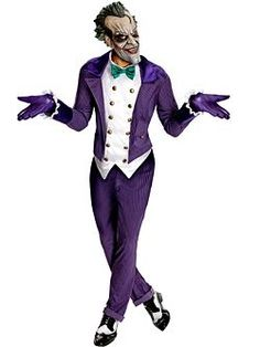 Batman The Joker   Cheap Batman Halloween Costume for Men