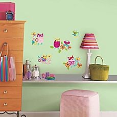image of RoomMates Zutano Owls Wall Decals
