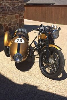 Honda CB 500 Sidecar Cafe Racer