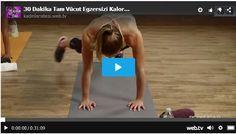 30 Dakika Tam Vücut Egzersizi Kalori Yakmak İçin