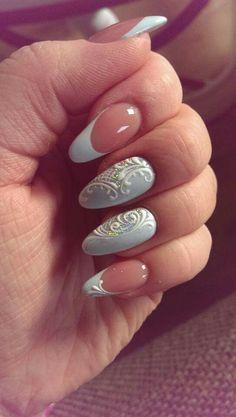 50 Top Best Wedding Nail Art Designs to Get Inspired Us Nails, Love Nails, Nagel Stamping, Holiday Nail Art, Rhinestone Nails, Beautiful Nail Designs, Easy Nail Art, Nail Artist, Finger