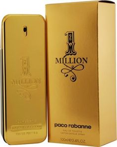 Paco Rabanne 1 Million By Paco Rabanne For Men Edt Spray 3.4 Oz by Paco Rabanne, $66.70 http://www.amazon.com/dp/B002XQ1X4G/ref=cm_sw_r_pi_dp_xfXirb06J3P7E