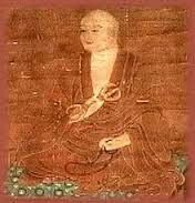 A brief biography of Kukai, aka Kobo Daishi a major figure in the history of Japanese Buddhism and the founder of the Shingon school. Japanese Monk, Japanese Buddhism, Chinese Buddhism, Tibetan Buddhism, Nara, Hiragana, Buddhist Monk, Buddhist Art, Reiki
