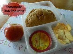 {Freezer to Lunchbox Series} Homemade Hot Pockets.