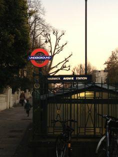 Warwick Avenue London Underground Station