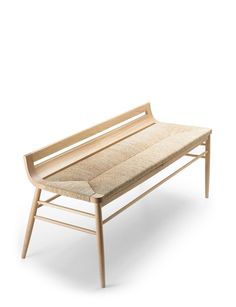 Rush Seat Bench Usona Home Dimensions 51 X 20 22 H 18 In Plan - Bench Design for Your Ideas Bench Furniture, Furniture Design, Furniture Assembly, Deco Studio, Bench Designs, Take A Seat, Lounges, Furniture Inspiration, Sofa Chair