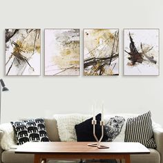 Retro Living Rooms, Living Room Art, Wall Decor Pictures, Vintage Wall Art, Vintage Posters, Home Wall Art, Modern Wall Art, Abstract Wall Art, Picture Wall