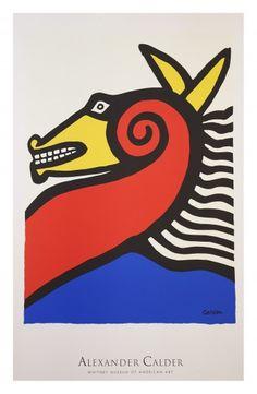 Vintage Poster. Alexander Calder - Whitney Museum