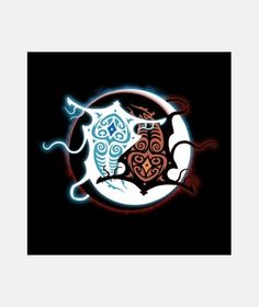 raava x vaatu mens camisa Korra, Avatar Wan, Tattoo Ideas, Anime, Tattoos, Geek, Canvases, Tatuajes, Tattoo