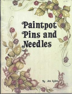 Paintpots Pins & Needles Vol 2 - jeanne - Picasa Web Albums...FREE BOOK!!