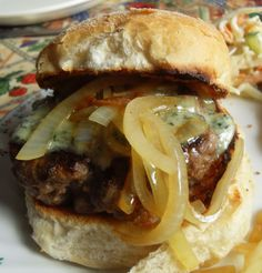 The English Kitchen: Steak Burgers with Stilton and Ale