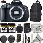 Canon EOS Rebel T5i 700D 18.0 MP Digital SLR DSLR Camera Body  64GB STORAGE
