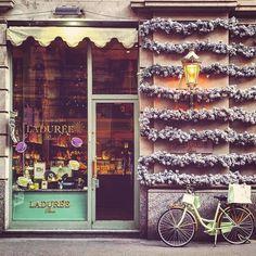 "ambroelio: ""Christmas mood - Milan ITALY _____________________________________ #architecture #archilovers #arquitectura #architecturelovers #buildingporn #streetart #instadesign #urban #street #urbano #urbanart #igtravel #wonderful_places #milano #igmilano #igmilan #igitaly #igitalia #igersitaly #igersitalia #igersmilan #igersmilano #laduree #exteriordesign #exterior #landscapelovers #archdaily #architectureporn #bycicle #scenery"""