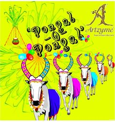 Artzyme.com wishes you a Happy Pongal :)