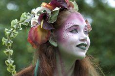 Amazing makeup at the Bristol Renaissance Faire