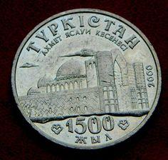Казастан 50 тенге  2000 Туркестан 1500 лет