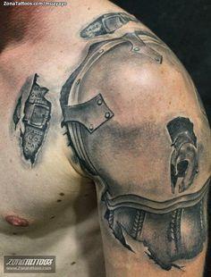 Tatuaje hecho por David López, de Córdoba (España). Si quieres ponerte en contacto con él para un tatuaje visita su perfil: http://www.zonatattoos.com/muayayo #tatuajes #tattoos #ink