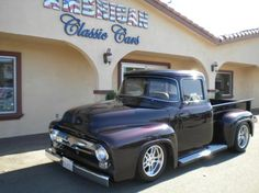 1956 Ford F100 Truck Purple 8 Cylinder Automatic 2 wheel drive | Classic Trucks | Pomona, CA
