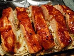 Here's a couple of mouthwatering teriyaki salmon dishes that you and your entire family will enjoy. With that in mind, here's everything you need for your amazing teriyaki salmon dish. Are you ready to join the small handful of people who have fallen in love with teriyaki salmon? Teriyaki Salmon, Salmon Dishes, Falling In Love, Seafood, Bacon, Pork, Couple, Breakfast, Amazing