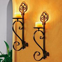 European style Metal Candle Holder shelf Classic design Metal Candlesticks Home Decoration wall shelf candle holders home accent -- More info could be found at the image url. Wrought Iron Candle Holders, Metal Candle Holders, Candle Stand, European Home Decor, European Style, Living Room Restaurant, Wrought Iron Decor, Iron Furniture, Candle Wall Sconces